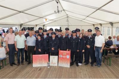 Vorschaubild zur Meldung: Feuerwehr Grabow feiert 100.-jähriges Bestehen