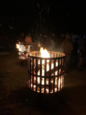 Vorschaubild zur Meldung: Herbstfeuer in Sülte