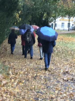 Vorschaubild zur Meldung: Tageswanderung am 18.10.2019 zur Archenhold Sternwarte in Berlin Treptow