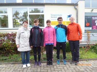 Kleines Team beim 30. Leipziger Löwenpokal
