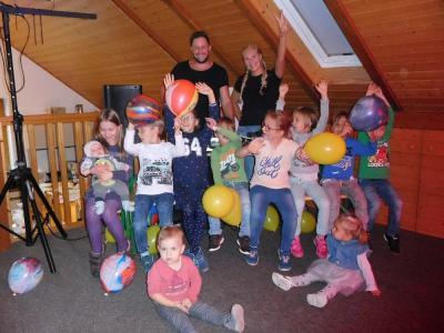 Foto zur Meldung: Kinderdisco für die Hummeln
