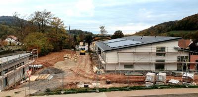 Vorschaubild zur Meldung: Die neue Kindertagesstätte wird