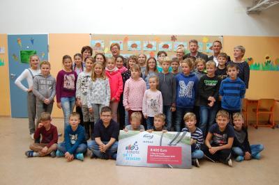 Vorschaubild zur Meldung: Geldsegen für den Förderverein der Grundschule Golßen