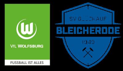 Foto zur Meldung: Glückauf zu Besuch beim VfL Wolfsburg