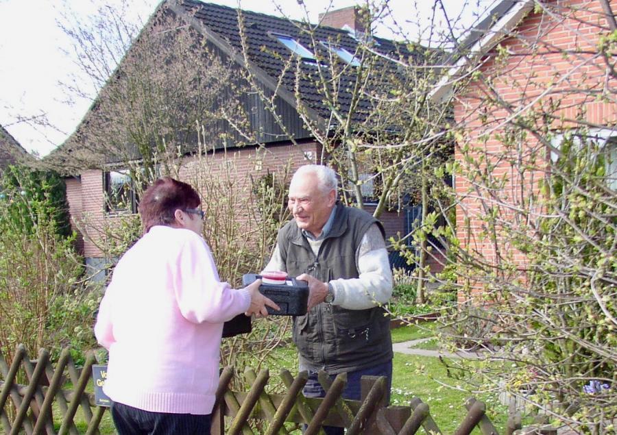 Bild der Meldung: Tradition im Ortsverein Lensahn: Essen auf Rädern wird gut angenommen