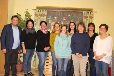 Foto zur Meldung: Der Kindergarten St. Johannes hat neun Elternbeiräte