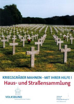 Vorschaubild zur Meldung: Volksbund Deutsche Kriegsgräberfürsorge e. V. ruft wieder auf zur Haus- und Straßensammlung 2019