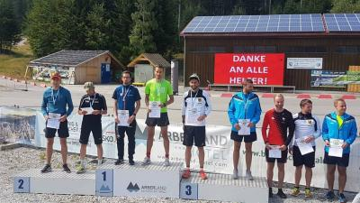 Foto zur Meldung: Bayrische Meisterschaften Sommerbiathlon