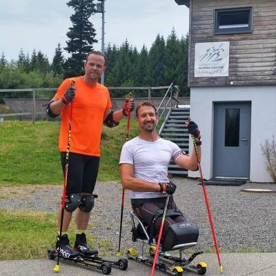 Foto zur Meldung: Behindertensportler waren zum DBS Leistungslehrgang in Kirchzarten