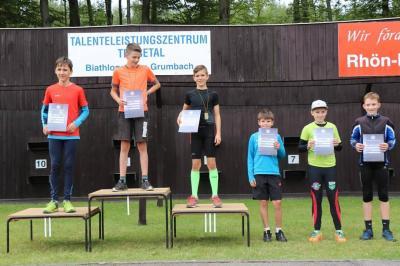 Foto zur Meldung: Thüringer Schülercup Biathlon Trusetal