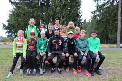 Foto zur Meldung: Crosslauf unter Staffelbedingungen Großbreitenbach