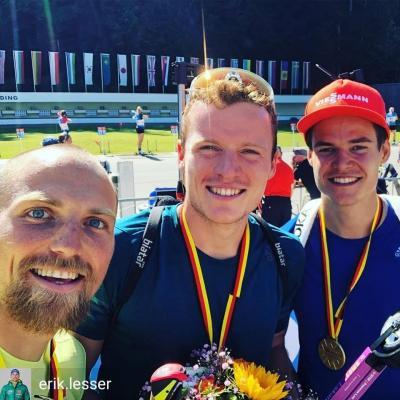 Foto zur Meldung: Deutsche Meisterschaft Biathlon