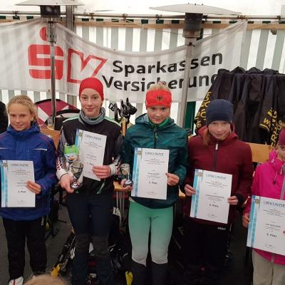 Foto zur Meldung: Thüringer Langlauf Cup Skiroller