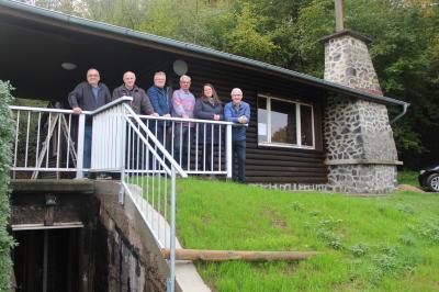 Foto zur Meldung: Renovierung der Ludwig-Knieling Hütte
