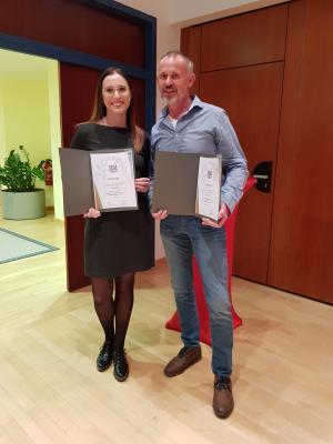 Foto zur Meldung: TV- Wallersdorf  bei Ehrungen der Bayerischen Sportjugend stark vertreten