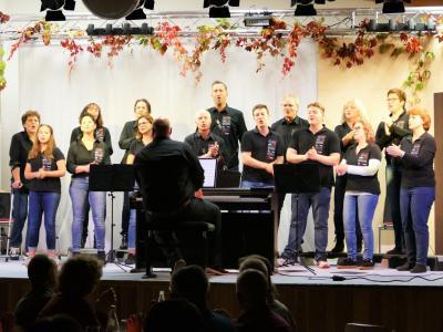 Foto zur Meldung: RebelCanto bei der Sängerrunde Neubrunn