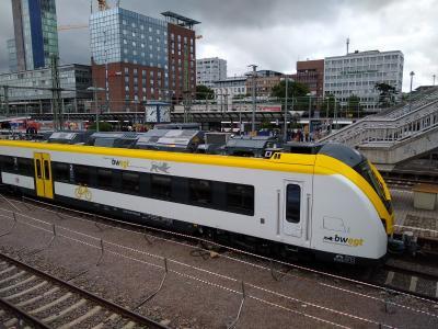 Neue Züge der Deutschen Bahn auf der Höllentalstrecke im Probebetrieb im Einsatz - Foto: Joachim Hahne / johapress