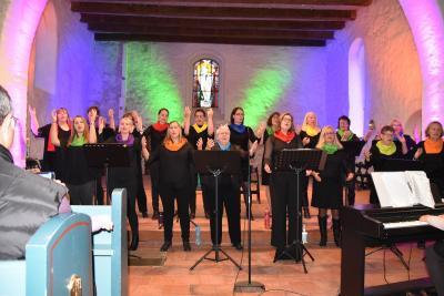 Foto zur Meldung: Gospelchor Colors of Grace feiert am 3. November 20-jähriges Bestehen