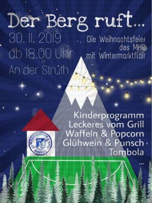 """Foto zu Meldung: """"Der Berg ruft"""" - Weihnachtsmarkt am 30.11.2019"""