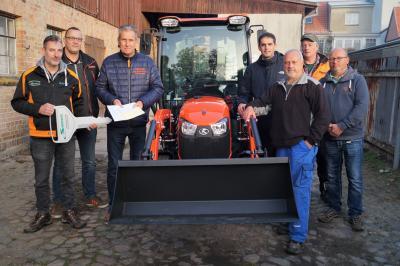 Foto zur Meldung: Stadtbauhof erhält neue Technik