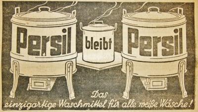 Persil-Werbung im Segeberger Kreis- und Tageblatt 1934