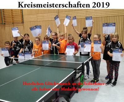 Nachwuchs-Kreismeisterschaften 2019