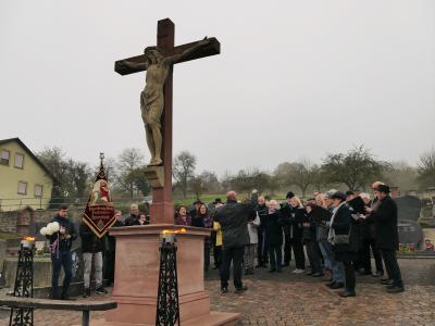 Foto zur Meldung: Totengedenken an Allerheiligen