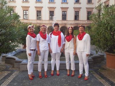 Foto zur Meldung: Frohsinn-Singers im Bayerischen Staatsministerium