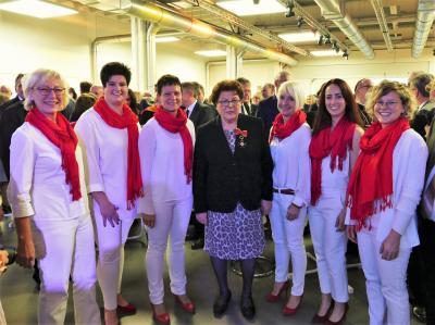 Foto zur Meldung: Feier zum 75. Geburtstag von Barbara Stamm