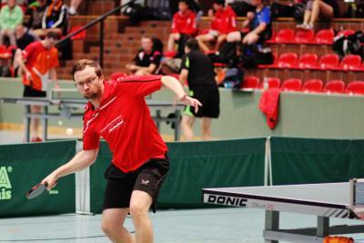 Foto zur Meldung: Ralf Neugebauer (SV Schmalensee) dreifacher Kreismeister 2019 im Tischtennis