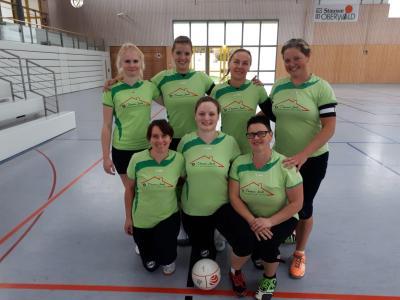 Für Kubschütz spielten: Klara Kröger, Isabelle Hänsel, Romy Schleinitz, Katja Pech, Nancy Schmidt, Janine Hetschick und Grit Hempel