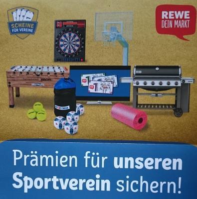 """Vorschaubild zur Meldung: REWE-Aktion """"Scheine für Vereine"""""""