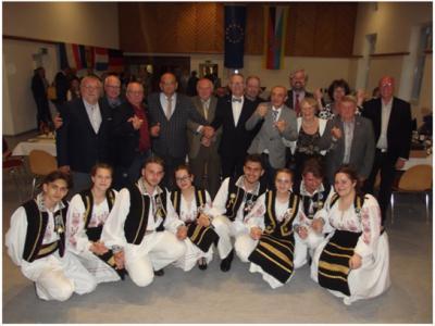 Foto zur Meldung: Europäischer Gedankenaustausch in Kirn-Land/Rheinland-Pfalz
