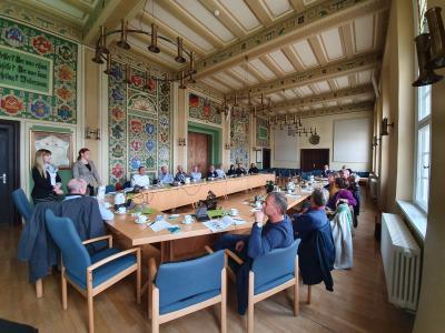 Mitglieder-Treffen im Rathaus Malchin