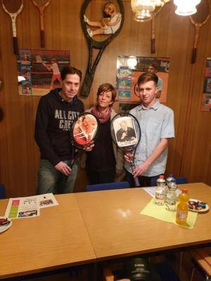 Foto zur Meldung: Jung, dynamisch und kreativ - Neuer Vorstand im Tennisclub