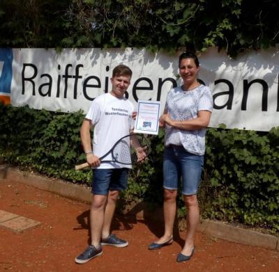 Foto zur Meldung: 685€ - Erfolg bei der Raiffeisenbank