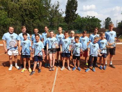 Foto zur Meldung: Tenniscamp 2019 erfolgreich beendet