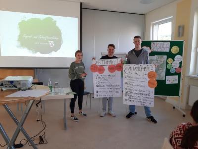 Vorschaubild zur Meldung: Make Haunetal great again….mit Pizza! Jugend-Zukunftsworkshop im MGH!