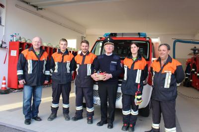 Vorschaubild zur Meldung: 3 neue Führerscheinbesitzer bei der Feuerwehr