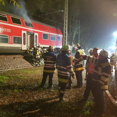 "Foto zur Meldung: ""Rauchentwicklung aus Bahnwaggon"" - FF Happing"