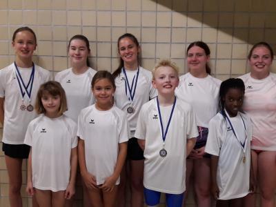 Foto zur Meldung: 02.11.19 Bezirksmeisterschaften Schwimmen
