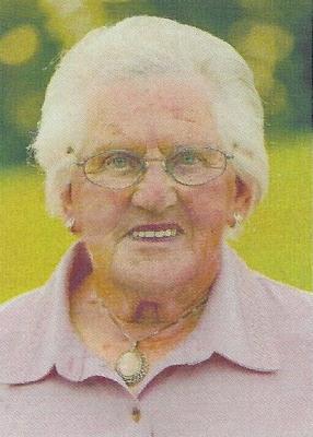 Vorschaubild zur Meldung: Johanna Ecker, eine beliebte Engelsdorferin starb mit 90 Jahren nach einem erfüllten Leben