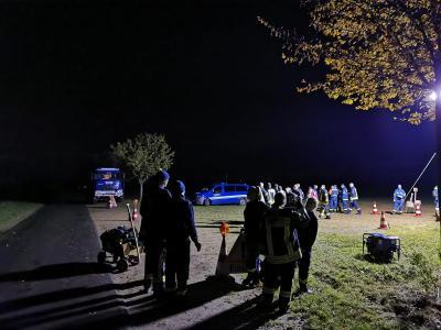 Foto zur Meldung: 9. Nachtmarsch der Feuerwehr Lüssow-Karow