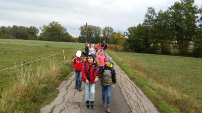Foto zur Meldung: Wandertag nach Kaubenheim