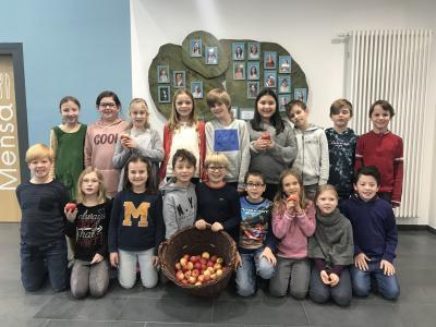 Vorschaubild zur Meldung: Herbstzeit ist Apfelzeit