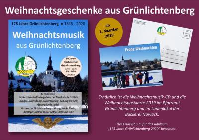 Weihnachtsplakat Grünlichtenberg
