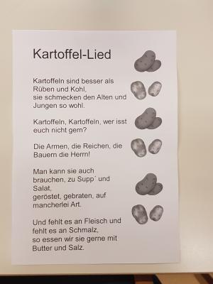 Vorschaubild zur Meldung: Kartoffeltag der DFK Klassen
