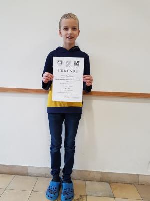 Luca ist Mathematik-Meister im Landkreis Kronach