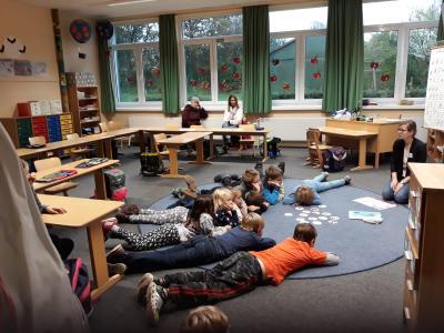 Foto zur Meldung: Samstagsunterricht an der GS Husby