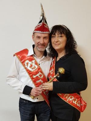 Foto zur Meldung: 62. Prinzenpaar